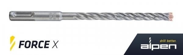 """Hammerbohrer SDS-plus """"FORCE X"""" 8-150-210 / VE10"""