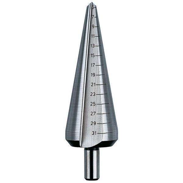 HSS Blechschälbohrer Gr. 8L: 5-31mm (GL 103mm)