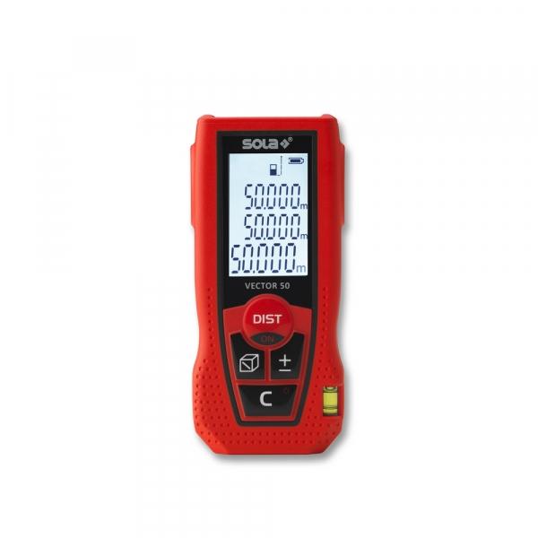 Laser-Entfernungsmesser 50m SOLA VECTOR 50