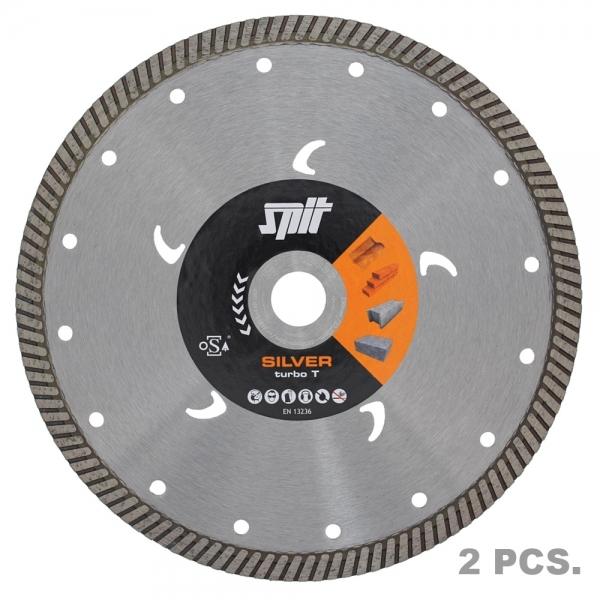 Diamantscheiben-Set Spit Silver Turbo D140mm