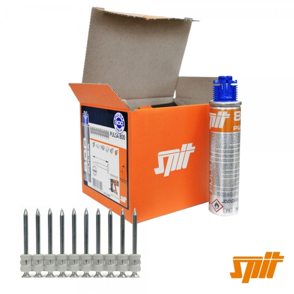 Spit Pulsa 800 Nägel HC 6-15 -restefrei-  (500 Stk