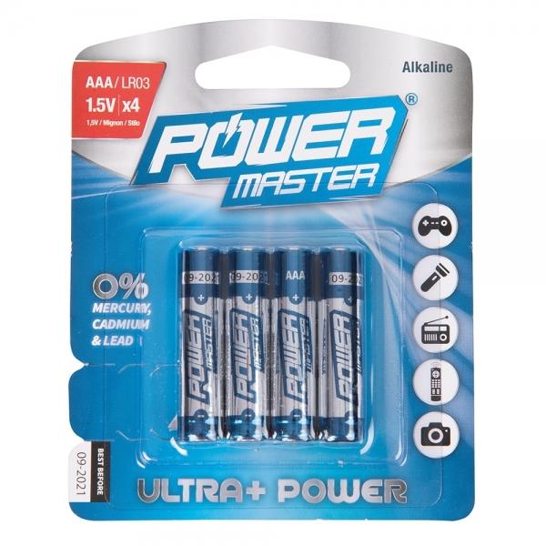 Batterien Typ AAA LR03 4er Pack