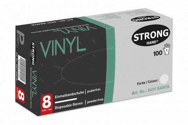 Vinyl-Einmalhandschuhe, puderfrei Gr. 9 / VE100