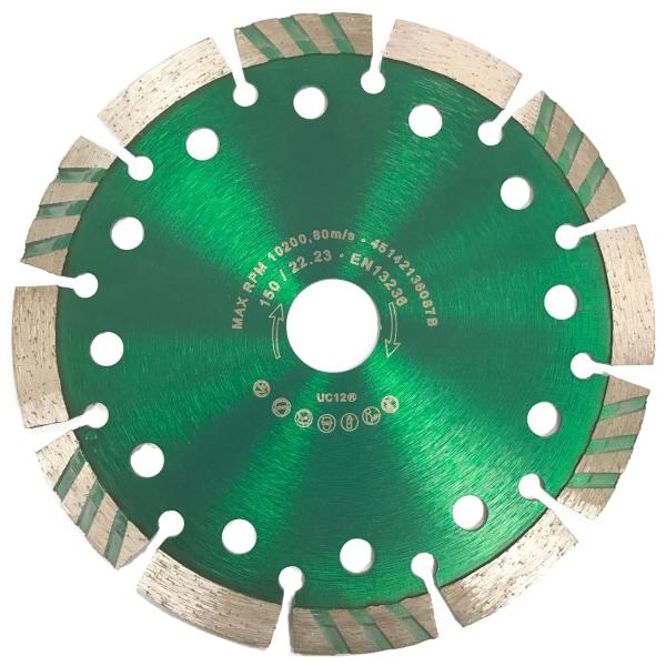 "Diamant-Trennscheibe ""Green""  Ø 150mm / 22,22"