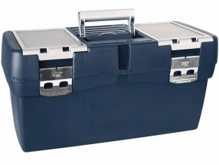 Werkzeugkoffer 560x310x280mm m. Metallverschlüssen