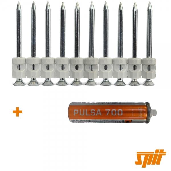 Spit Pulsa 700 Nägel C6-40 (500 Stk. + Gas)