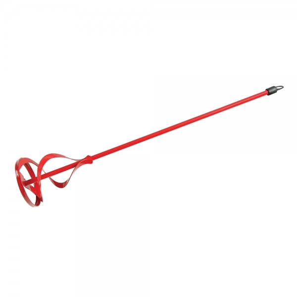 Rührquirl Korb: 100mm Länge: 600mm (rot)