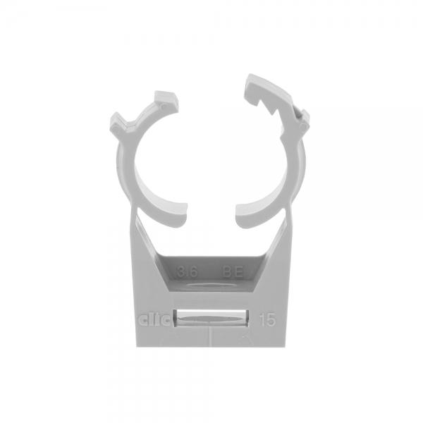 Kunststoff-Rohrschelle CLIC 22 (22-23mm) VE=100