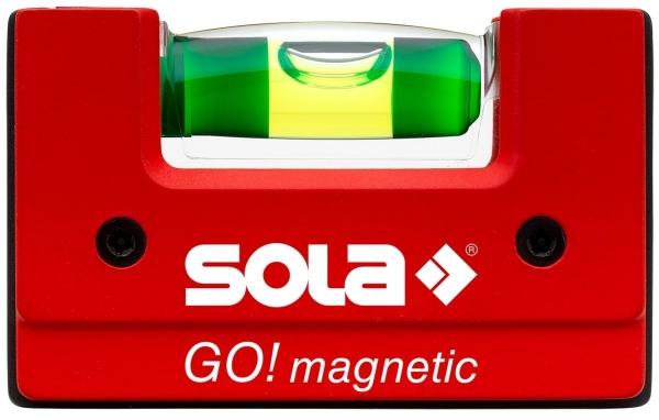 "SOLA Kompakt-Wasserwaage ""GO! Magnetic"""