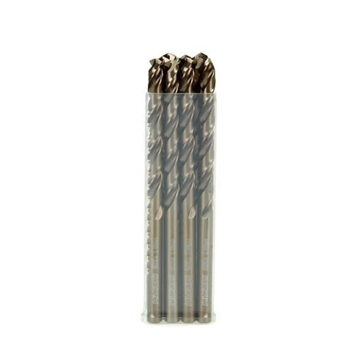 Metallbohrer HSS-CO DIN 338 5,1 x 52 x 86mm VE10