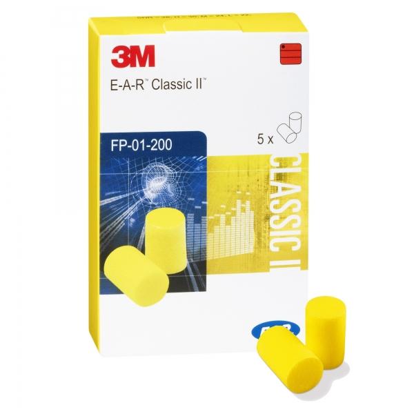 """Gehörschutz-Stöpsel """"3M CLASSIC 2"""" 5 Paar / Pack"""
