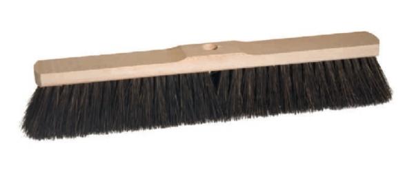 Saalbesen aus Sattelholz, schwarz 60cm