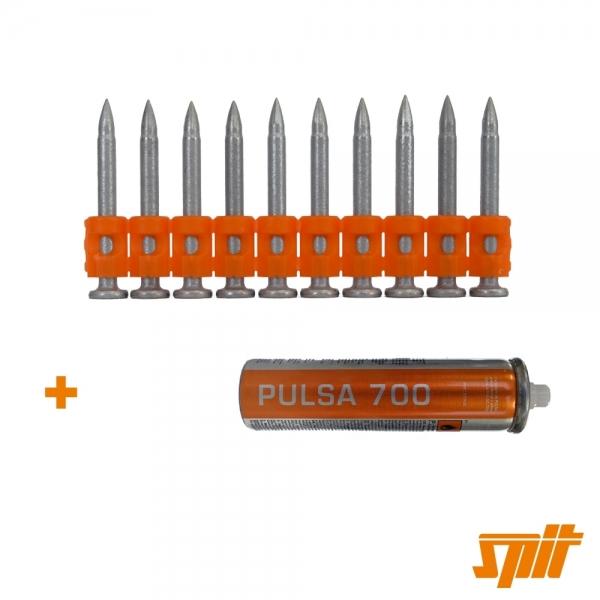 Spit Pulsa 700 Nägel HC 6-32 (500 Stk. + Gas)