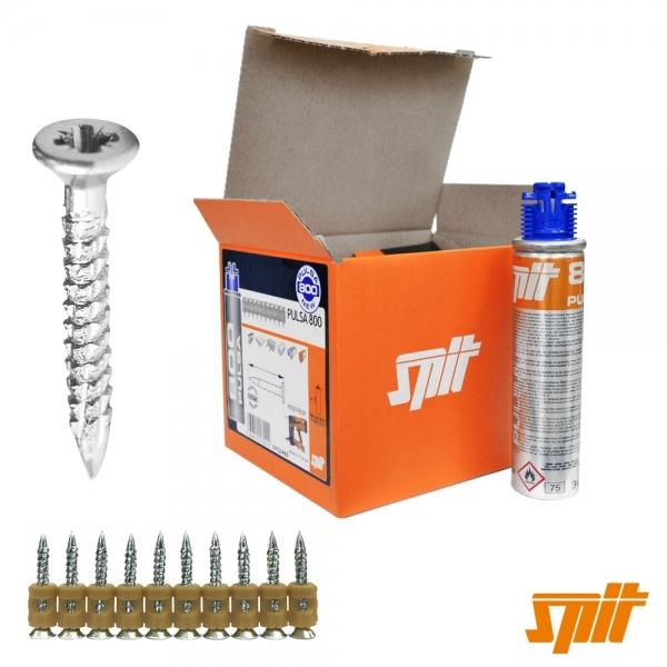 Spit Pulsa 800 Nägel CW6-25 (500 Stk. + Gas)