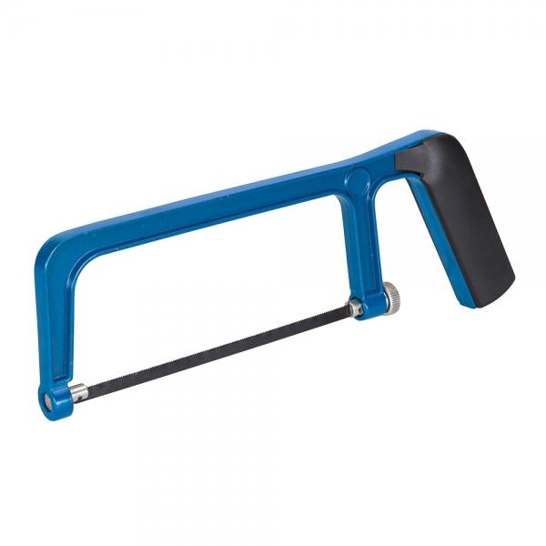 Bügelsäge 150mm inkl. Sägeblatt, blau