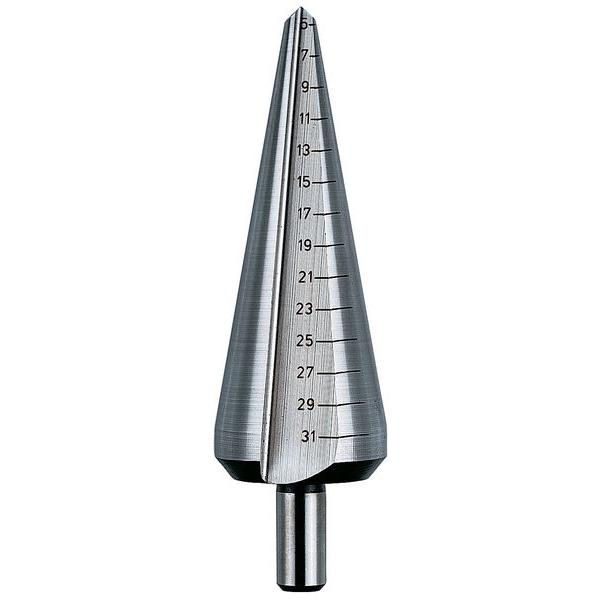 HSS Blechschälbohrer Gr. 3: 16-30,5mm (GL 76mm)